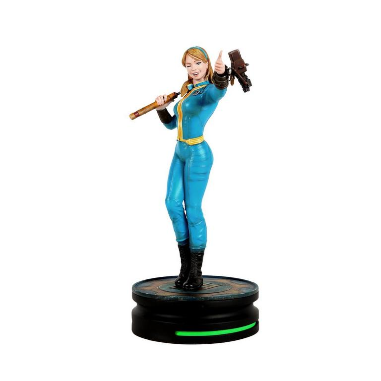 Fallout Vault Girl Modern Icons Statue