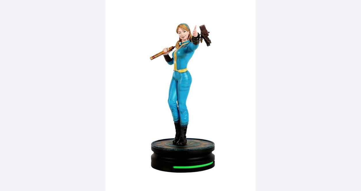 Fallout Vault Girl Modern Icon Statue