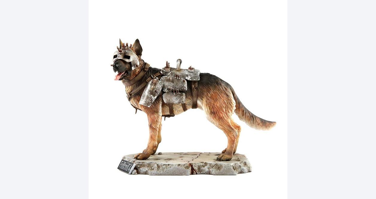 Fallout 1/6 Scale Dog Meat Statue