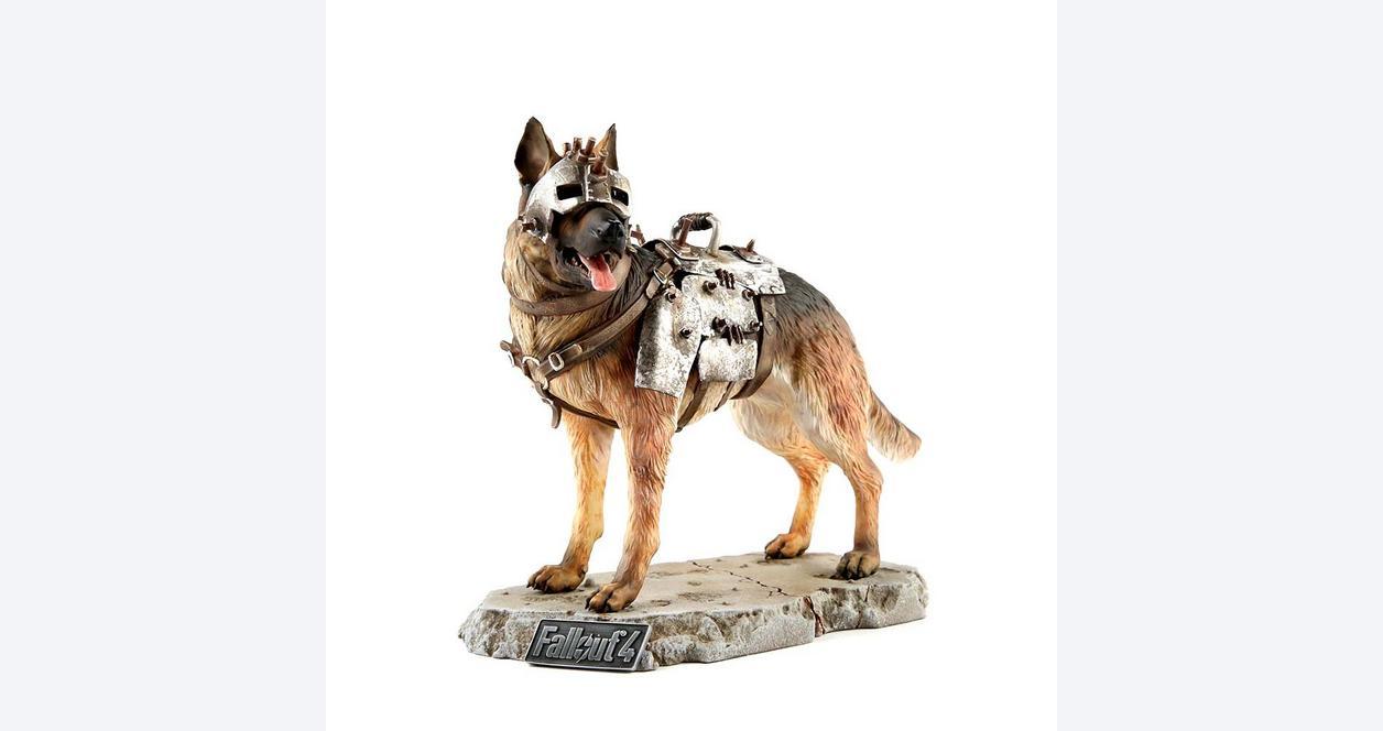 Fallout 4 Dogmeat Statue