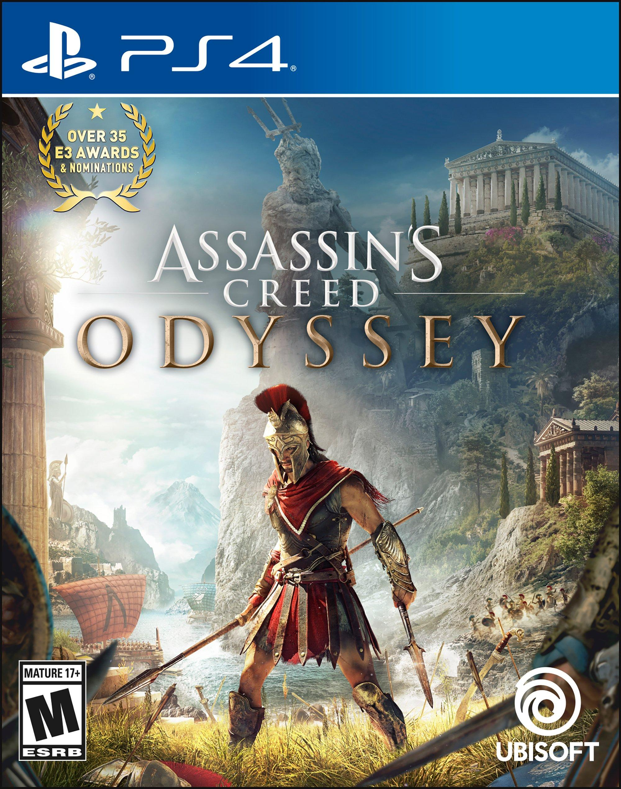 Assassin S Creed Odyssey Playstation 4 Gamestop