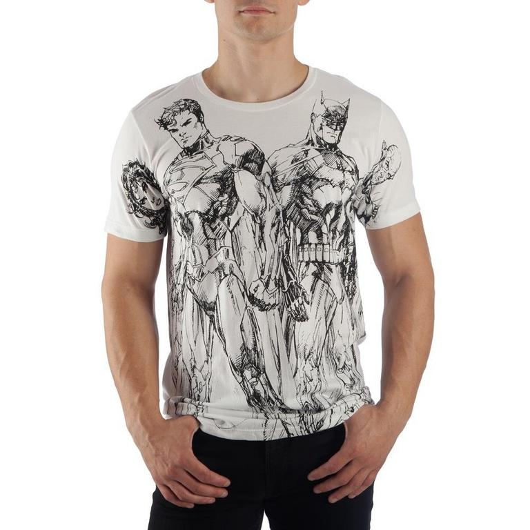 New 52 Justice League by Jim Lee T-Shirt