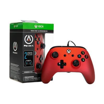 Xbox One Crimson Fade Enhanced Wired Controller