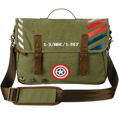 Captain America Vintage Army Satchel