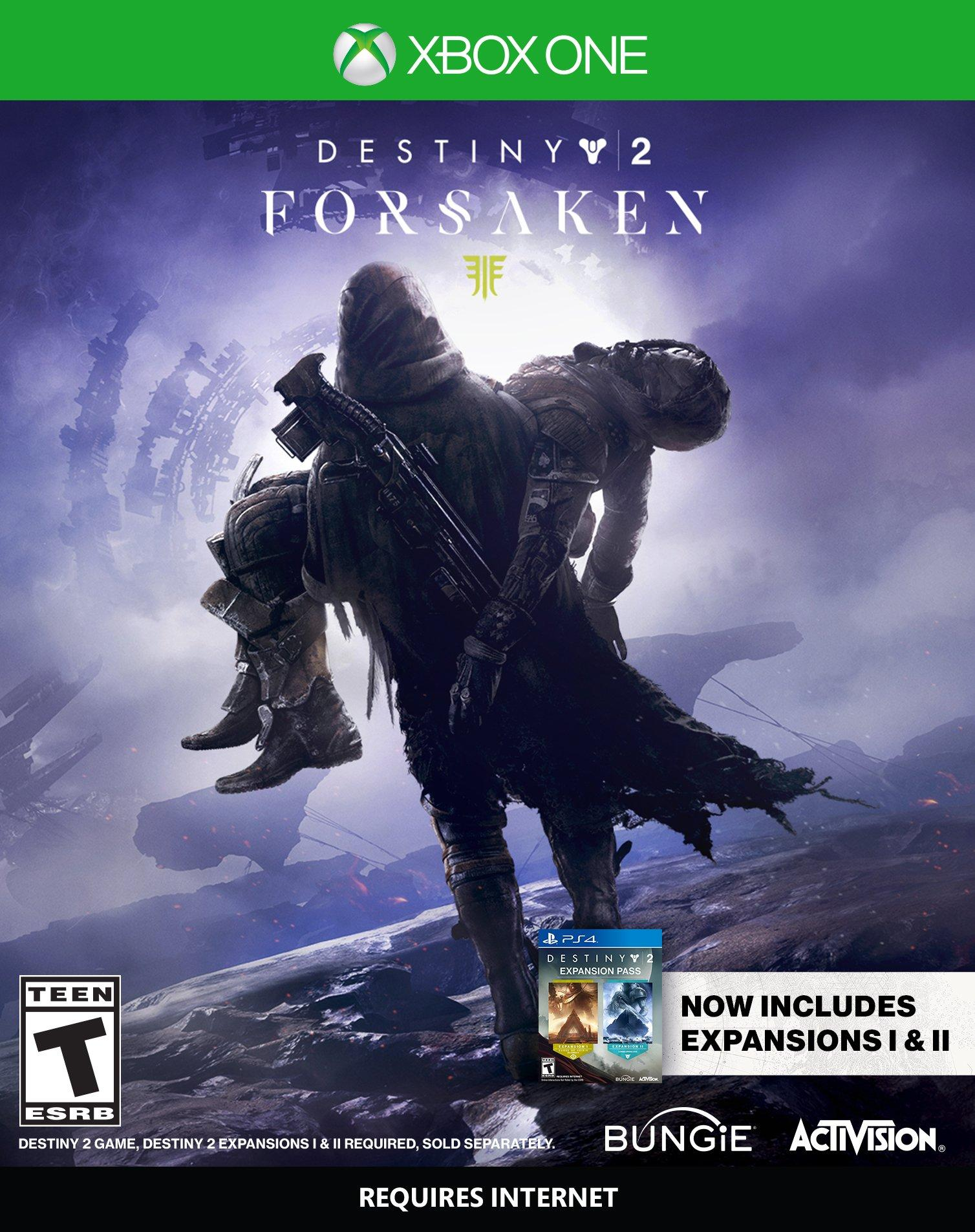 destiny 2 forsaken digital deluxe edition xbox one code