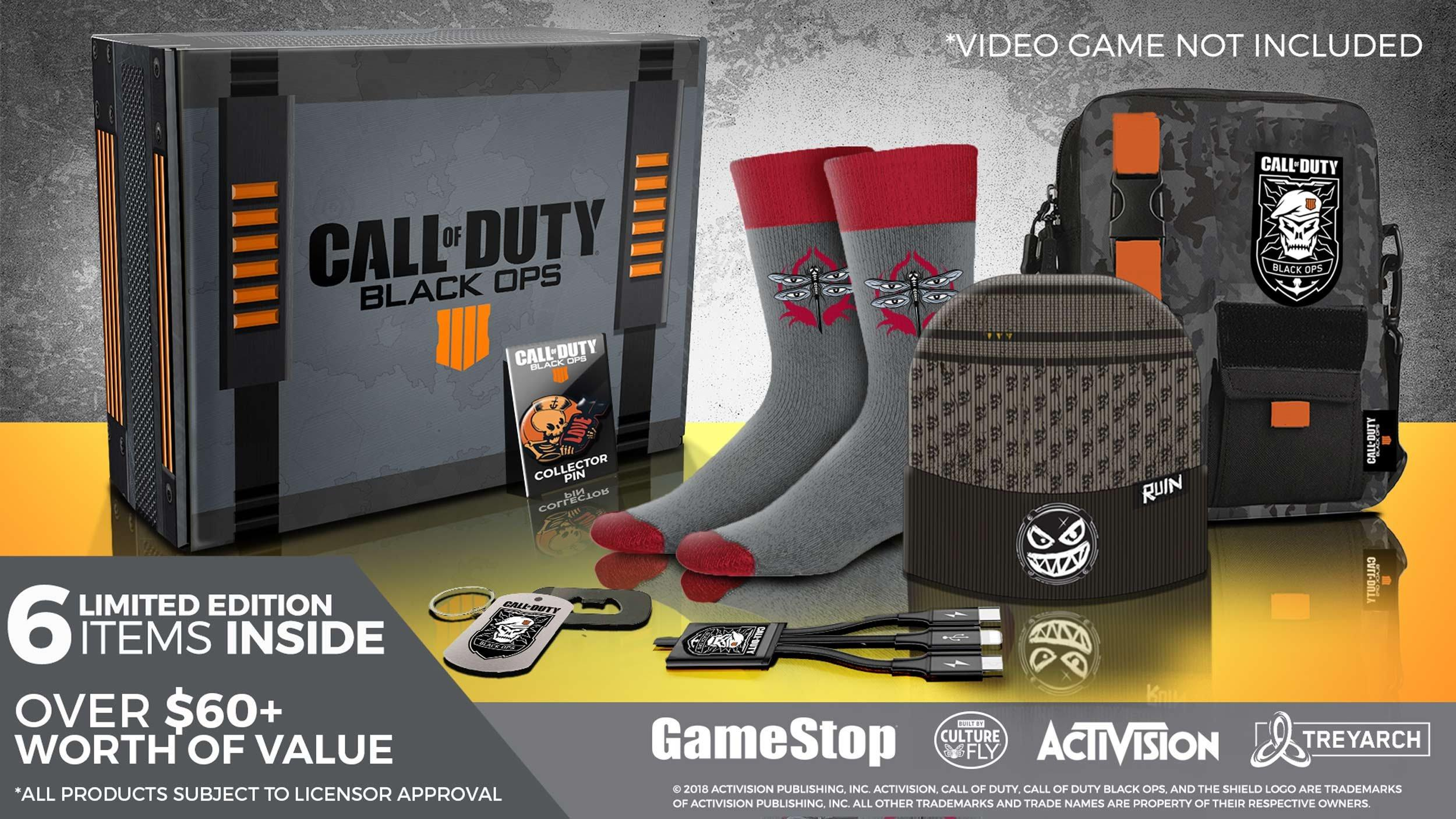 Call of Duty: Black Ops 4 Collector's Box - Only at GameStop | GameStop