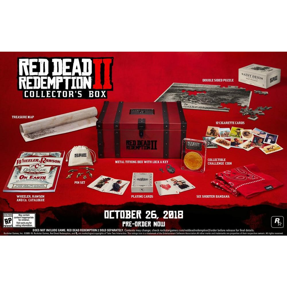 Red Dead Redemption 2 Collector's Box - Only at GameStop | GameStop