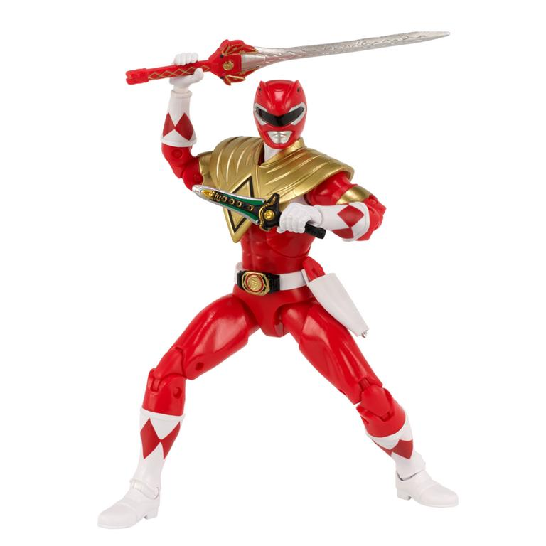 Mighty Morphin' Power Rangers Red Ranger Dragon Shield Exclusive Action Figure