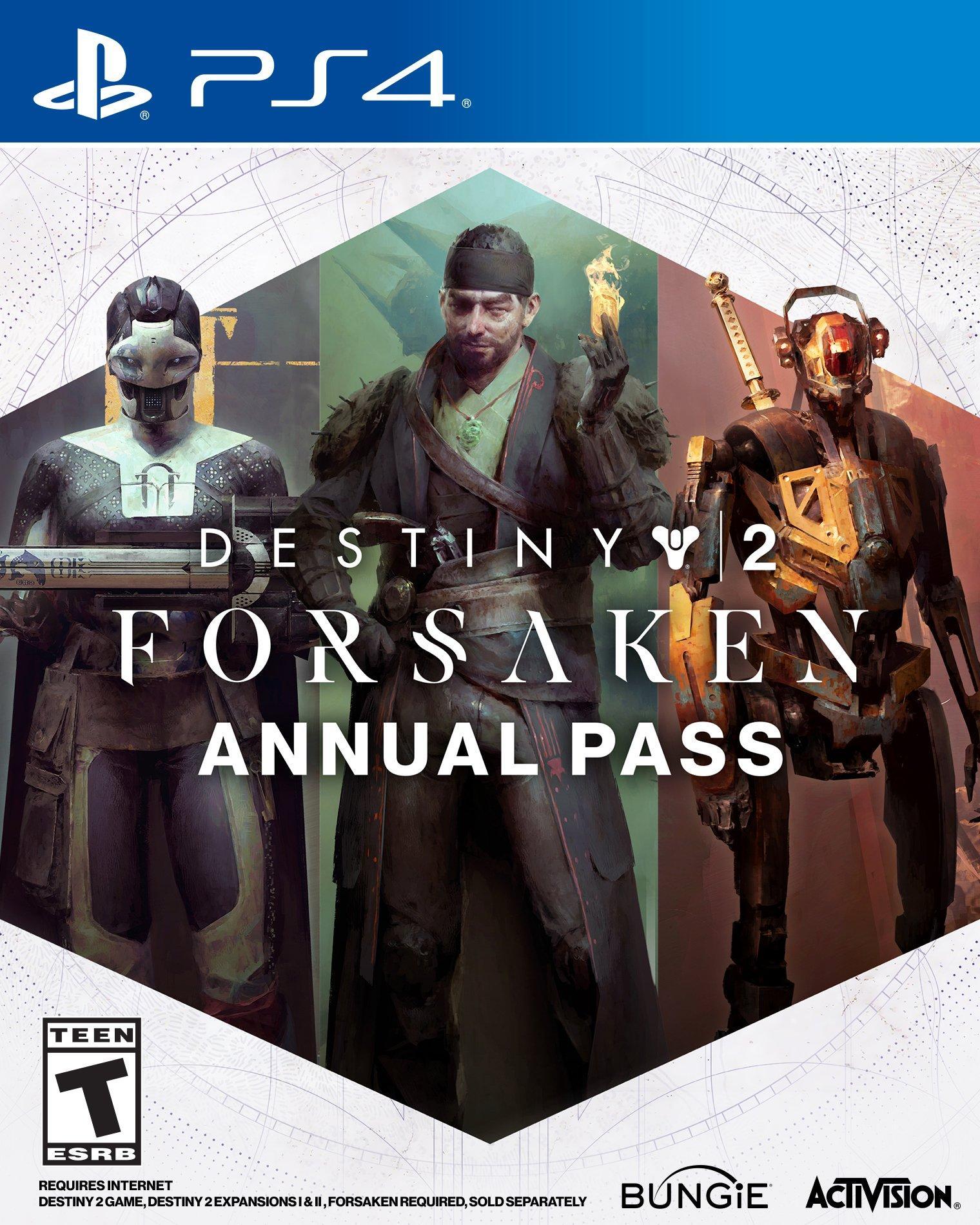 Destiny 2: Forsaken Annual Pass   PlayStation 4   GameStop