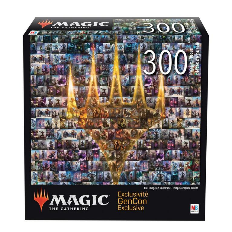 Magic the Gathering: Planeswalker Collage Puzzle- GenCon Exclusive- Only at GameStop