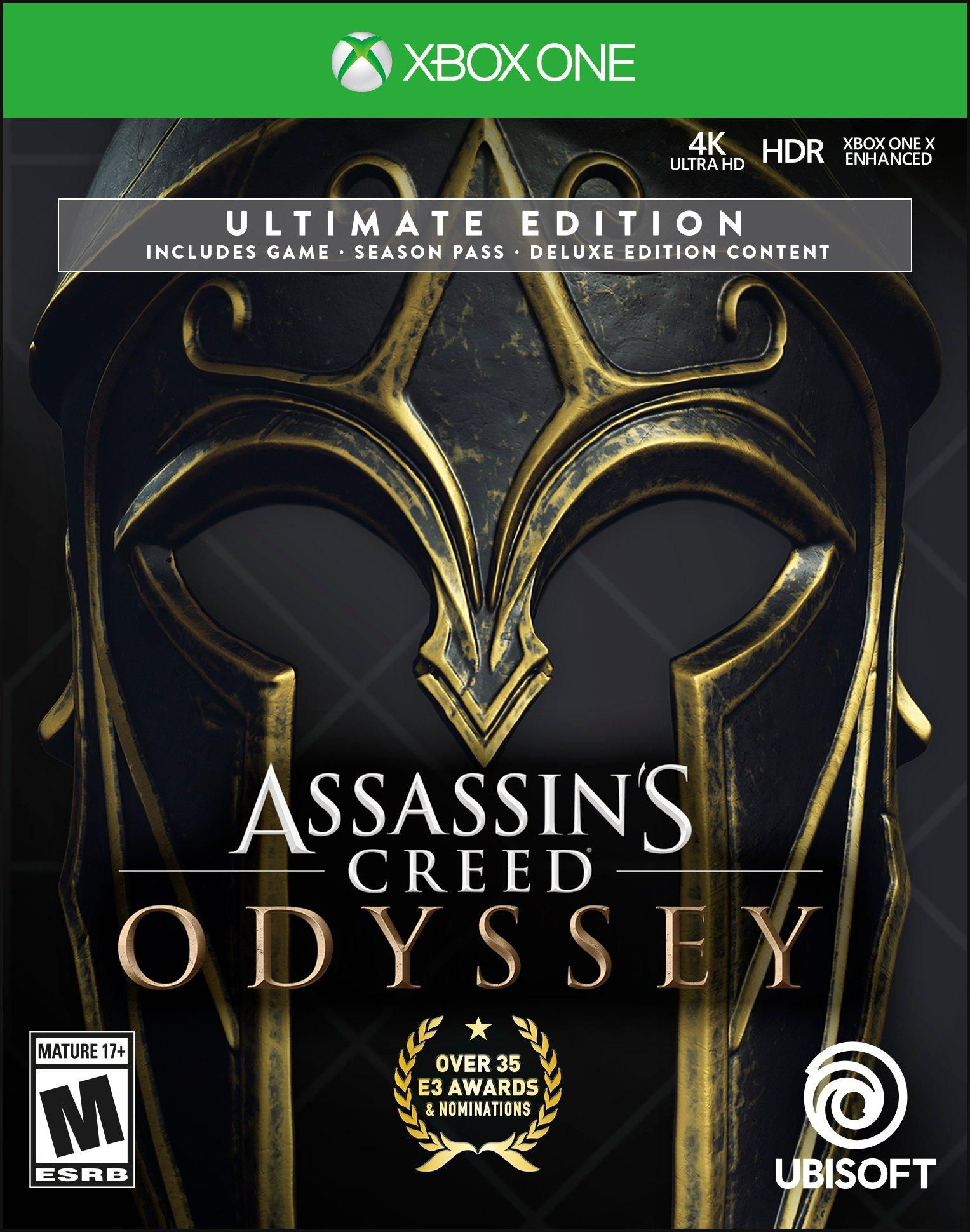 Assassins Creed Odyssey Ultimate Edition Xbox One Gamestop