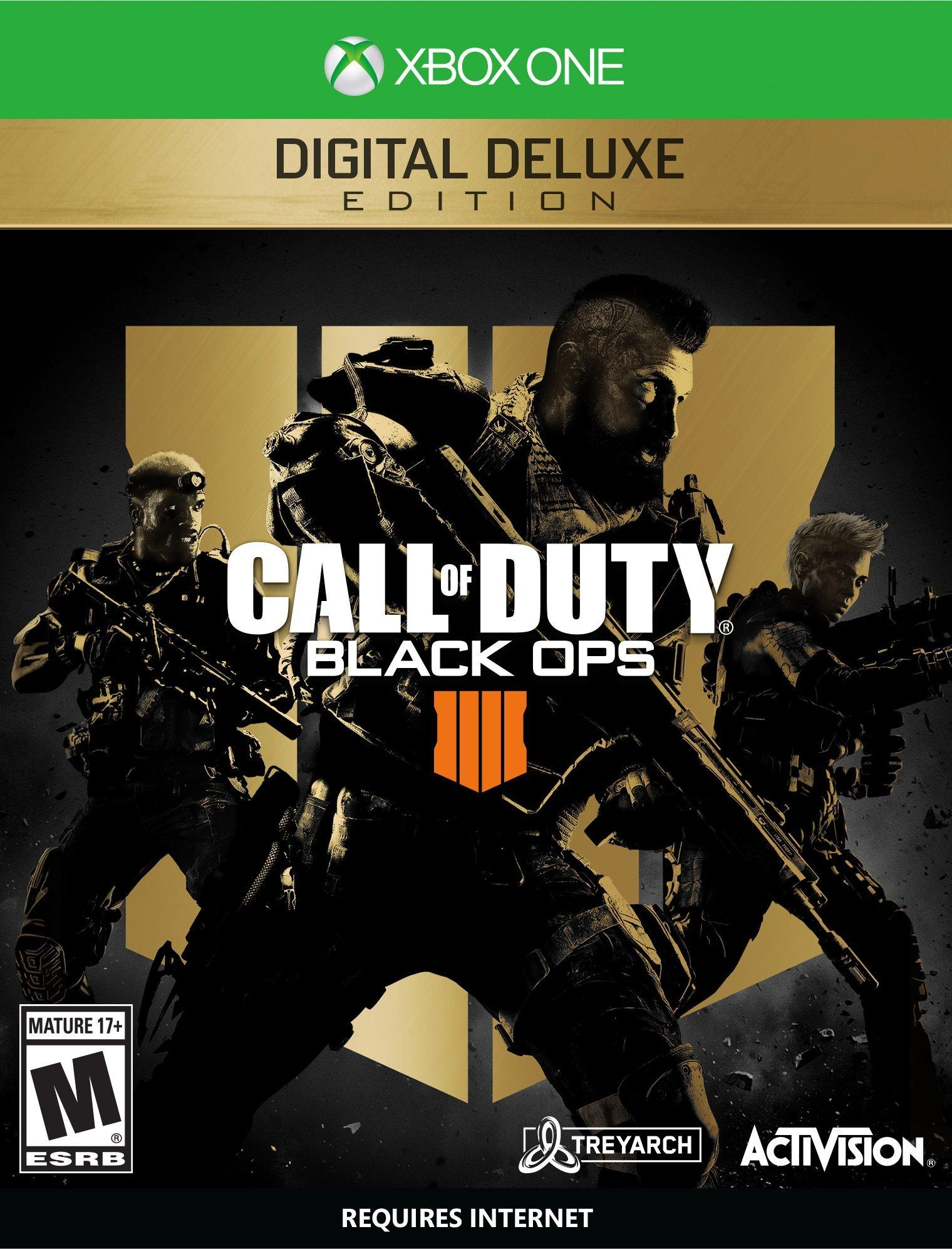 Call Of Duty Black Ops 4 Digital Deluxe Edition Xbox One