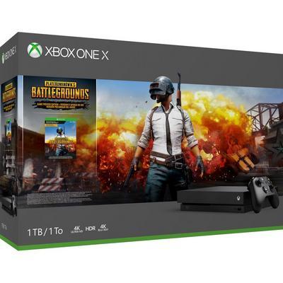 Xbox One X 1TB PUBG Bundle