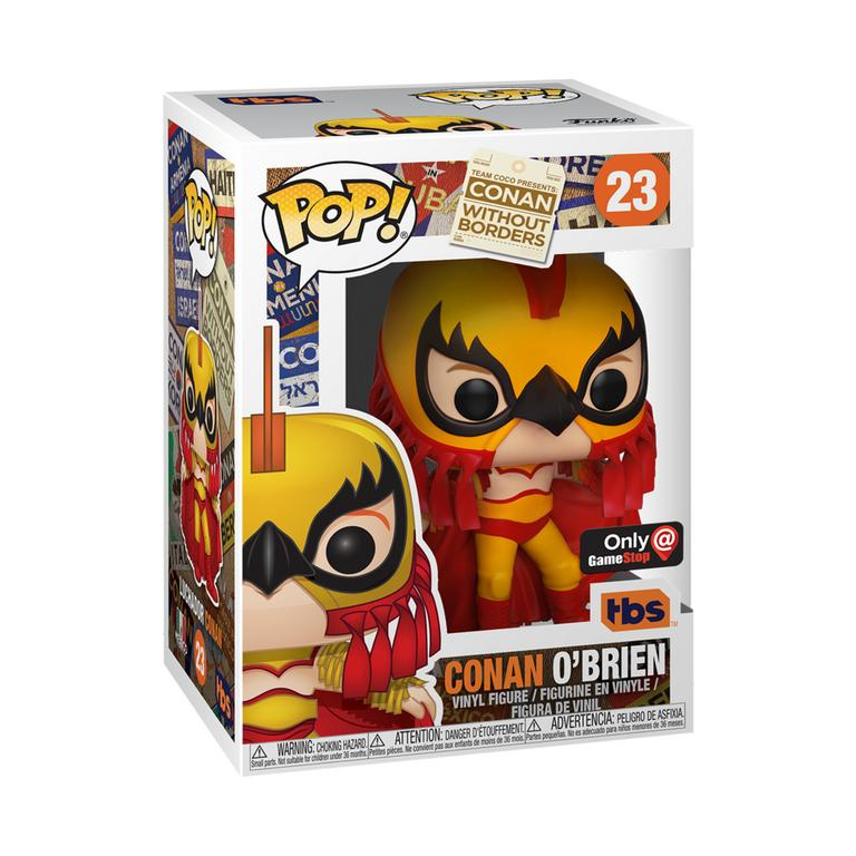 POP! Conan: Conan Without Borders Conan O'Brien Luchador Only at GameStop