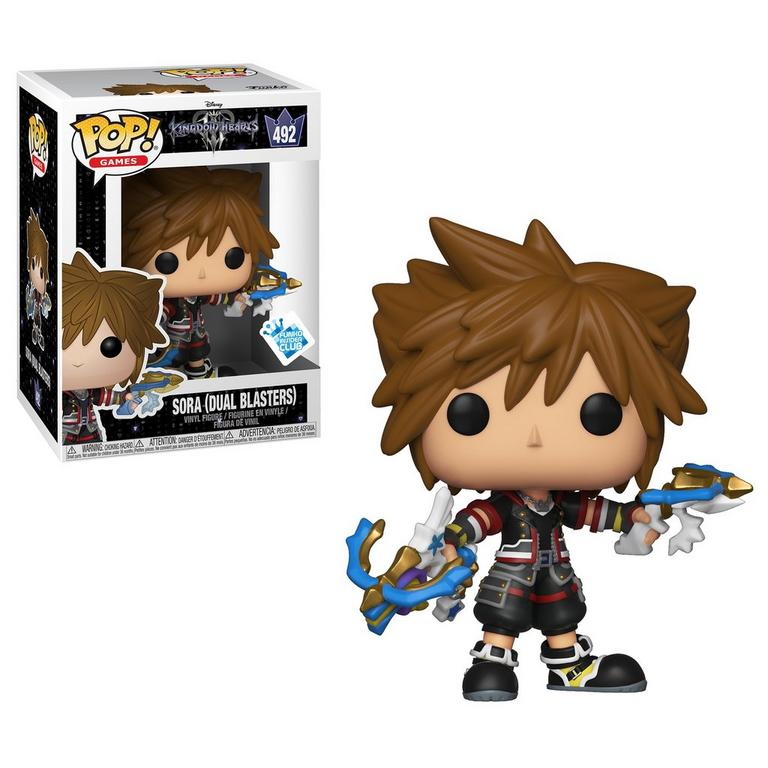 POP! Games: Kingdom Hearts III Sora with Dual Blasters Only at GameStop
