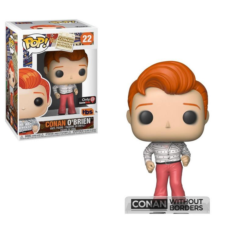 POP! Conan: Conan Without Borders Conan O'Brien K-Pop Only at GameStop
