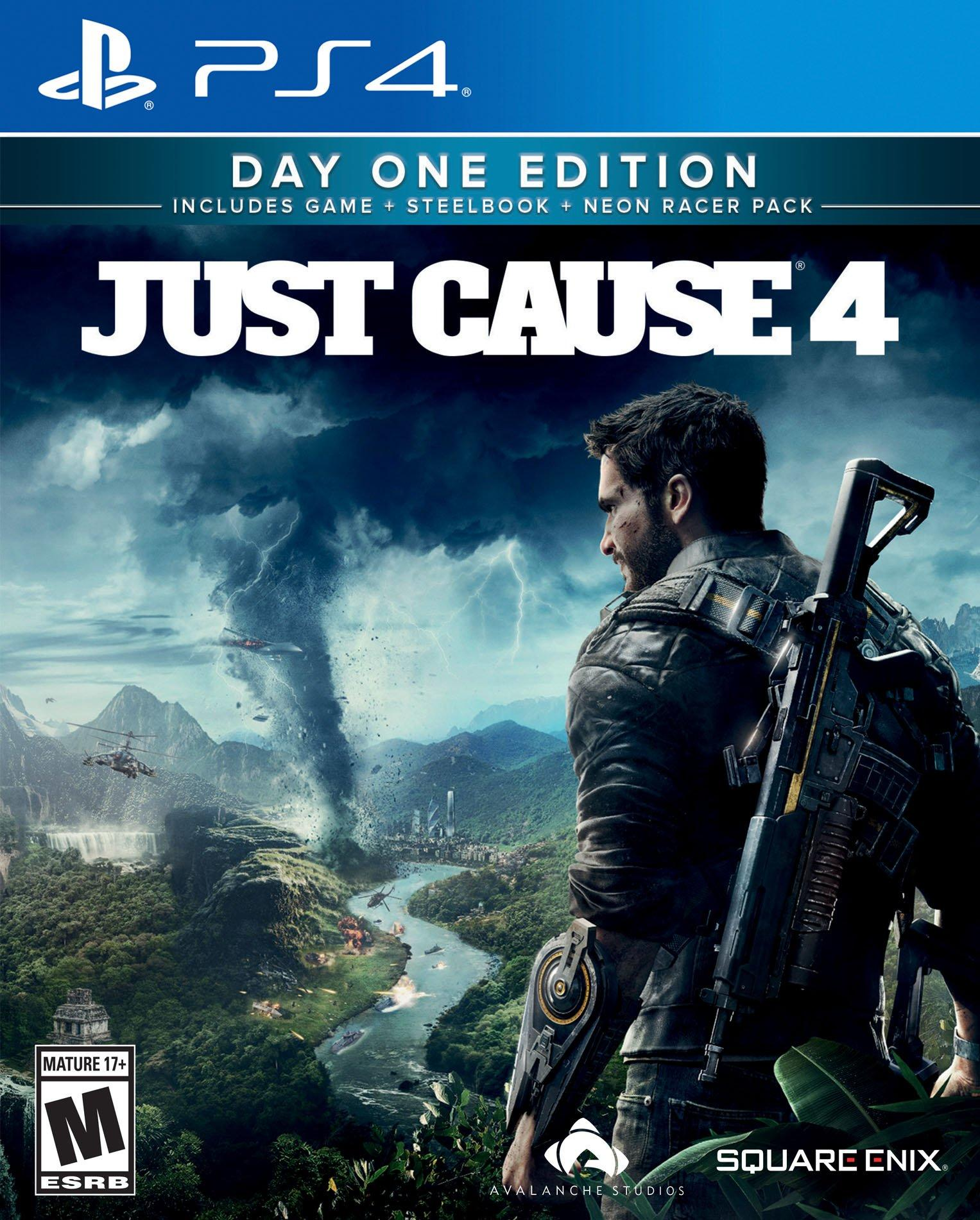 Just Cause 4 Day One Steelbook Edition - Only at GameStop   PlayStation 4    GameStop