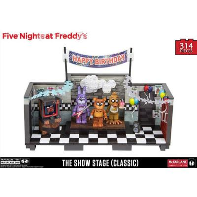 Five Nights at Freddy's The Show Stage (Classic) - Large Construction Set