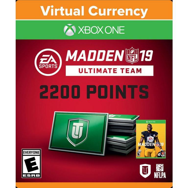 Madden NFL 19 - 2200 Ultimate Team Points