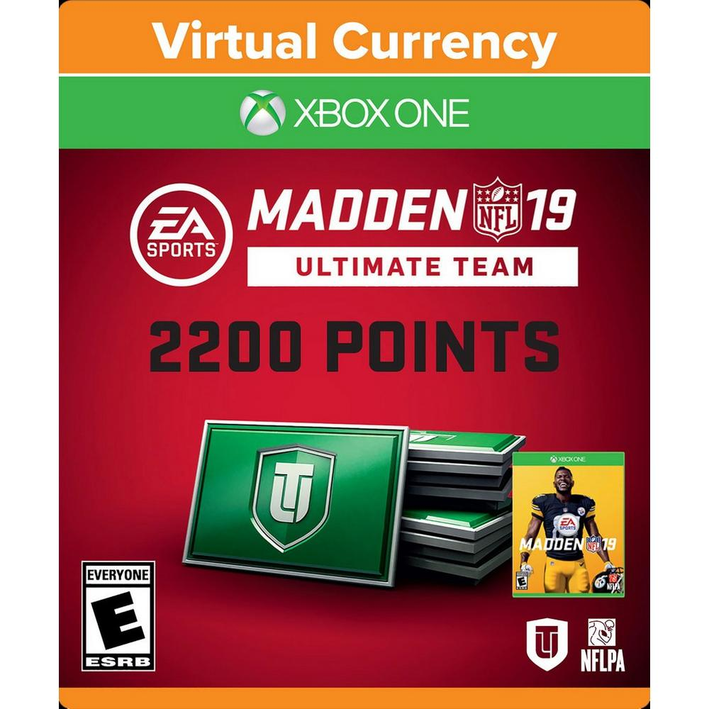 Madden NFL 19 - 2200 Ultimate Team Points   Xbox One   GameStop