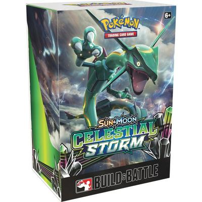 Pokemon Trading Card Game: Sun and Moon Celestial Storm Build and Battle Box