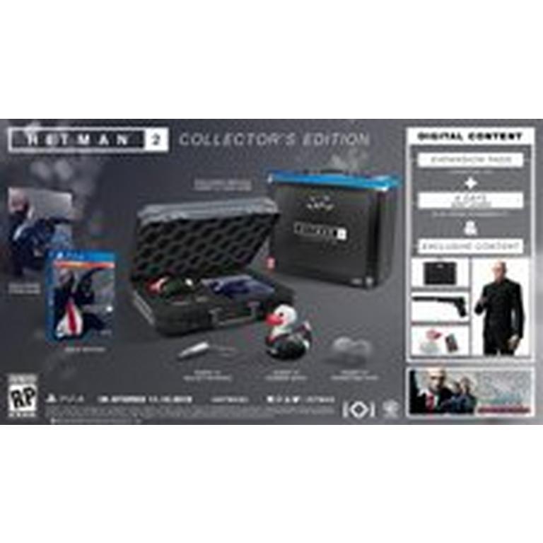 Hitman 2 Collector S Edition Only At Gamestop Playstation 4 Gamestop
