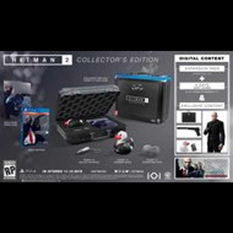 Hitman 2 Collector S Edition Only At Gamestop Playstation 4