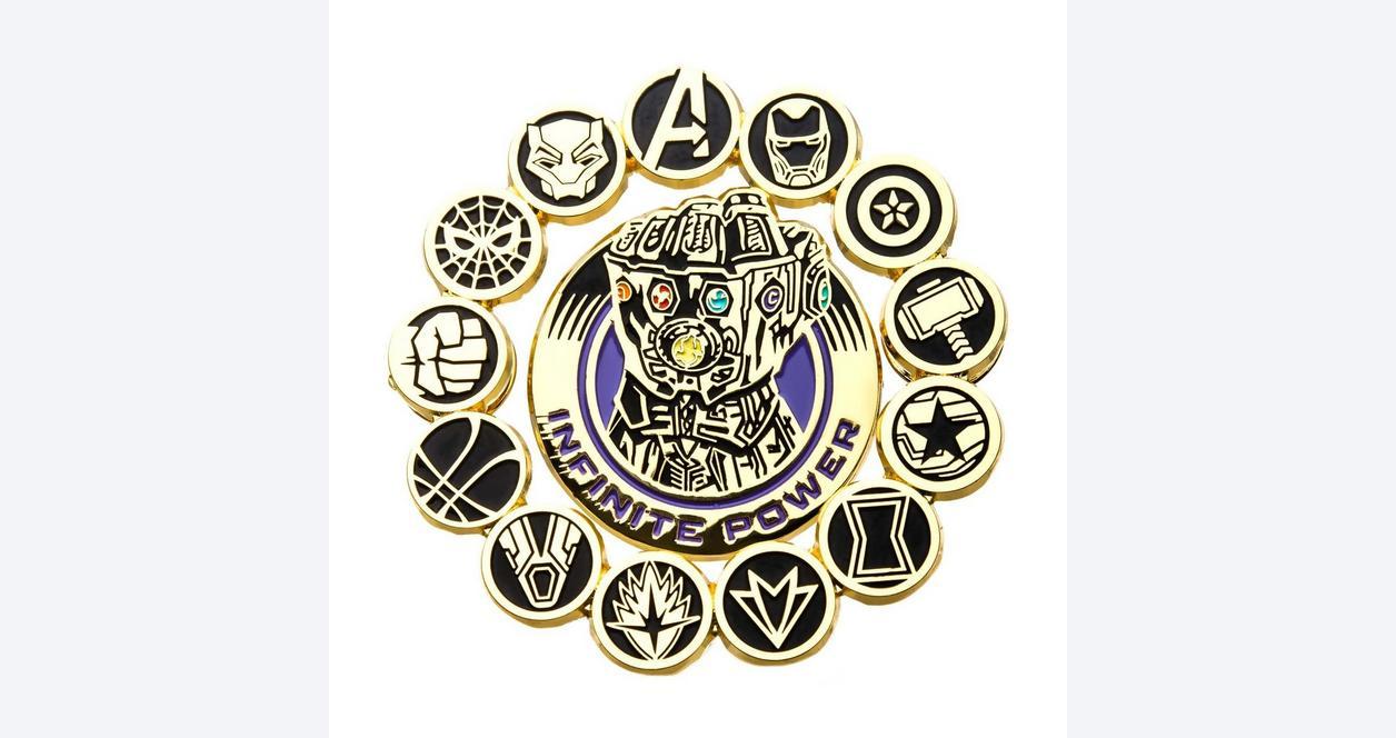 Marvel Infinity Gauntlet Pins