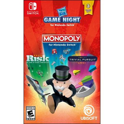Hasbro Game Night (Monopoly, Risk, Trivial Pursuit)