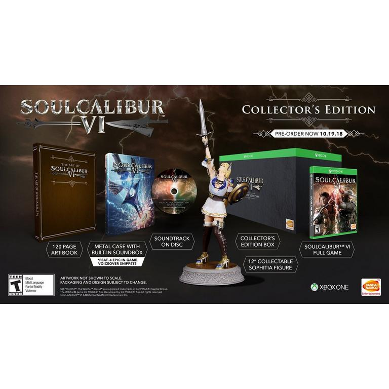 SOULCALIBUR VI Collector's Edition