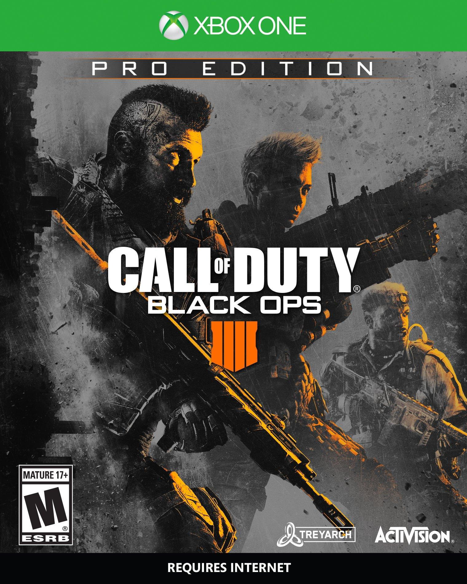 Call Of Duty Black Ops 4 Pro Edition Only At Gamestop Xbox One