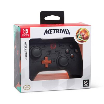 Nintendo Switch Metroid Shadow Wired Controller