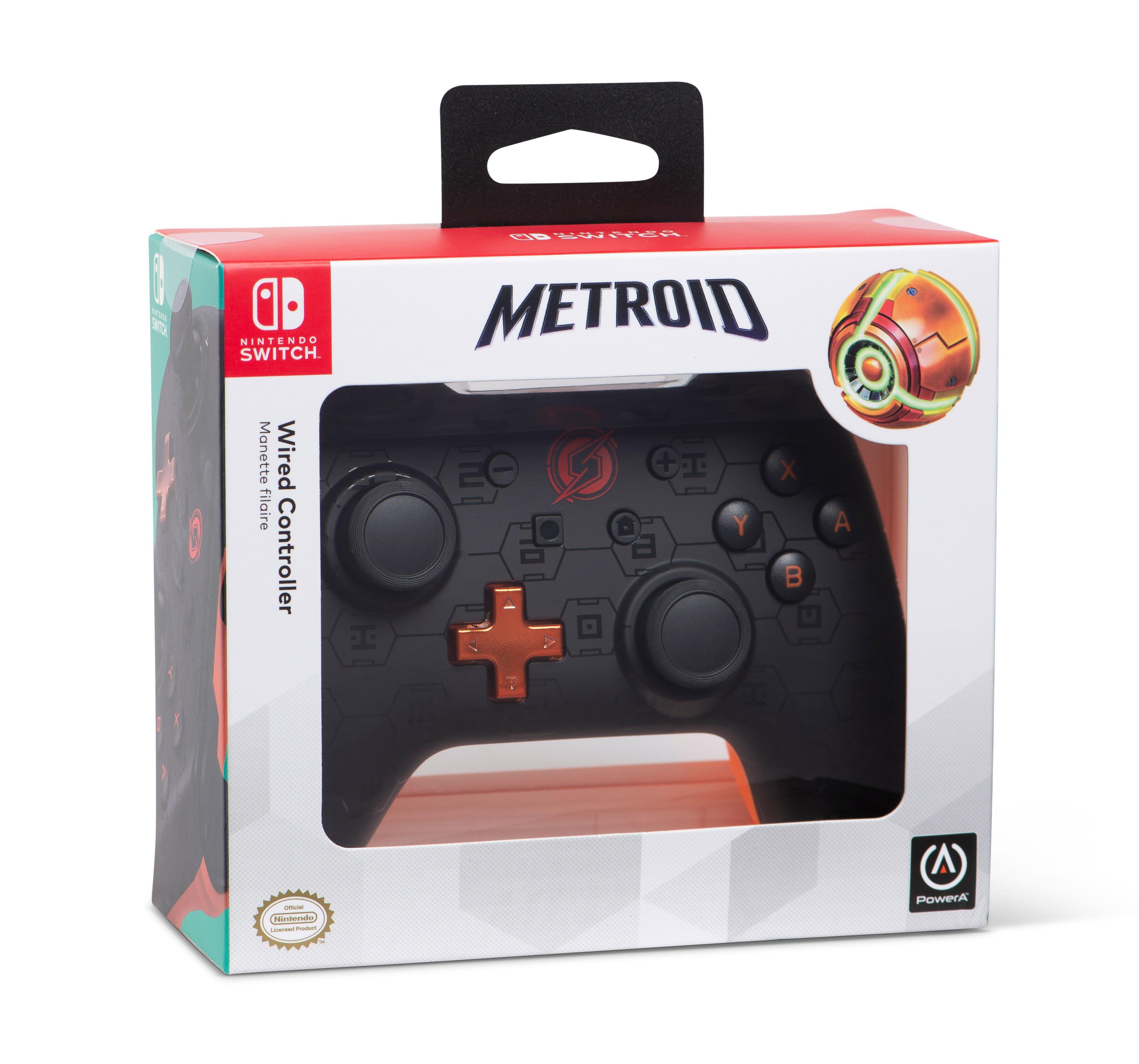 PowerA Wired Controller for Nintendo Switch - Samus Shadow | Nintendo  Switch | GameStop
