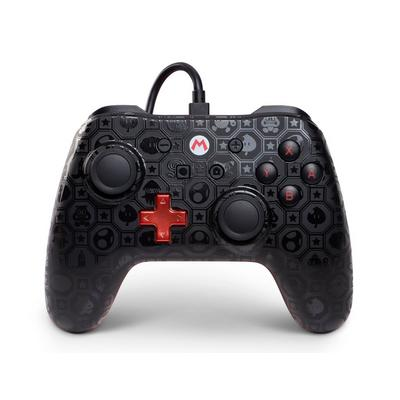 Nintendo Switch Wired Controller Shadow Mario Only at GameStop