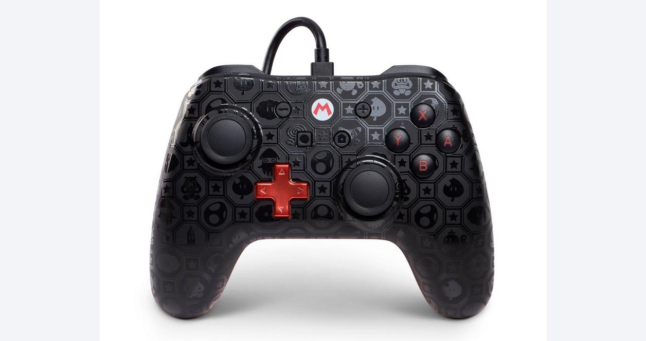 Nintendo Switch Mario Shadow Wired Controller Only at GameStop