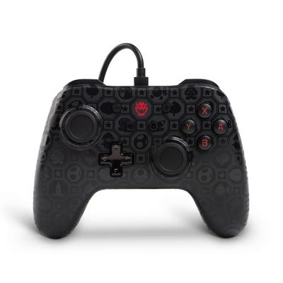 Nintendo Switch Bowser Shadow Wired Controller Only at GameStop