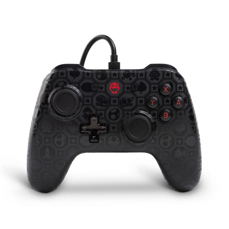 Nintendo Switch Super Mario Bros. Bowser Shadow Wired Controller Only at GameStop