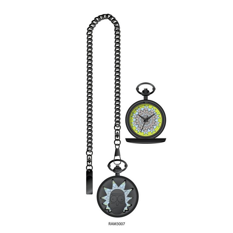 Rick and Morty Pocket Watch