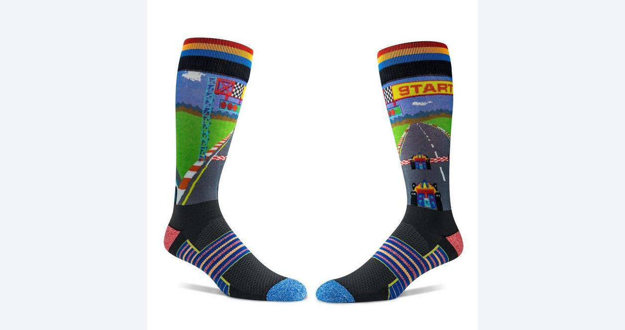 Pole Position Gaming Racing Socks