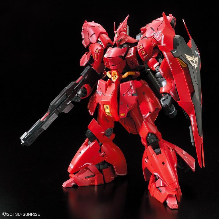 Mobile Suit Gundam Char S Counterattack Msn 04 Sazabi Real Grade Model Kit Gamestop