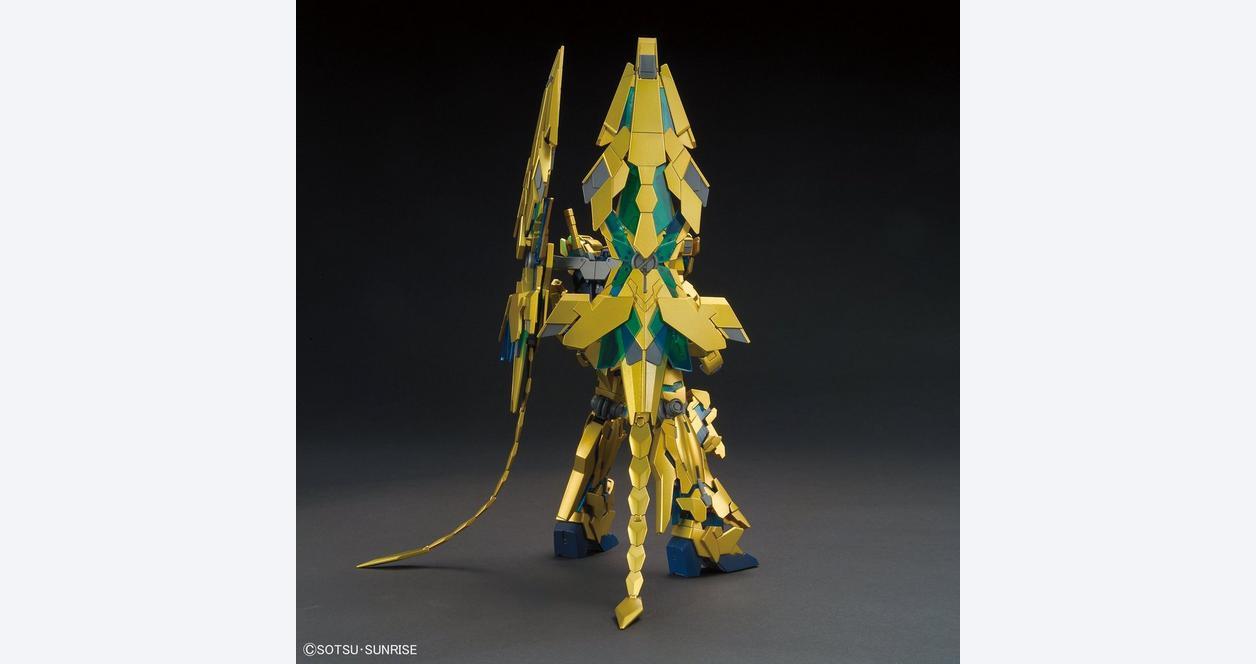 High Grade UC 1/144 Unicorn Gundam 03 Phenex Destroy Mode (NT. Ver) Model Kit