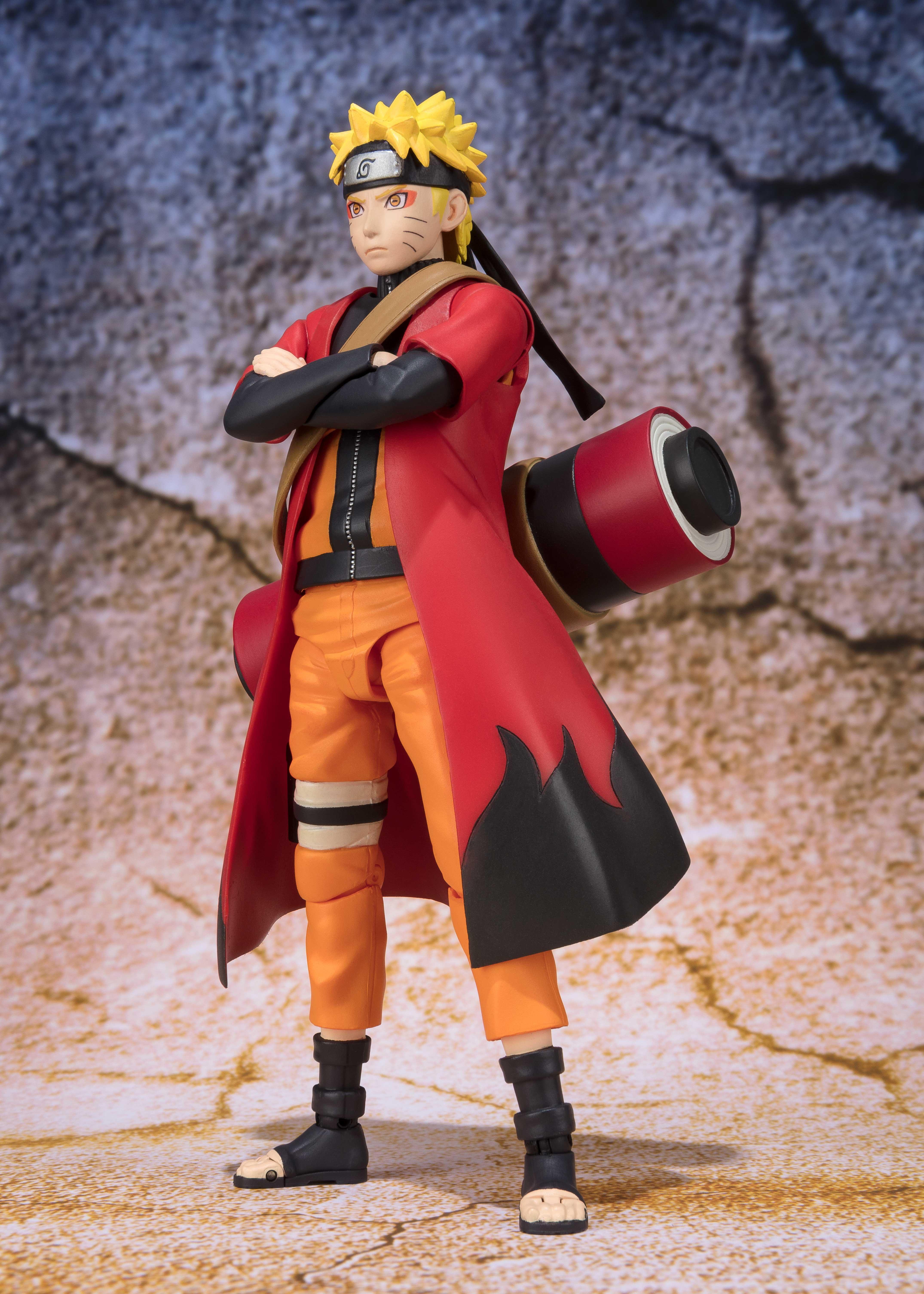 Best Selection Naruto Shippuden Naruto Uzumaki PRE-ORDER Bandai S.H.Figuarts