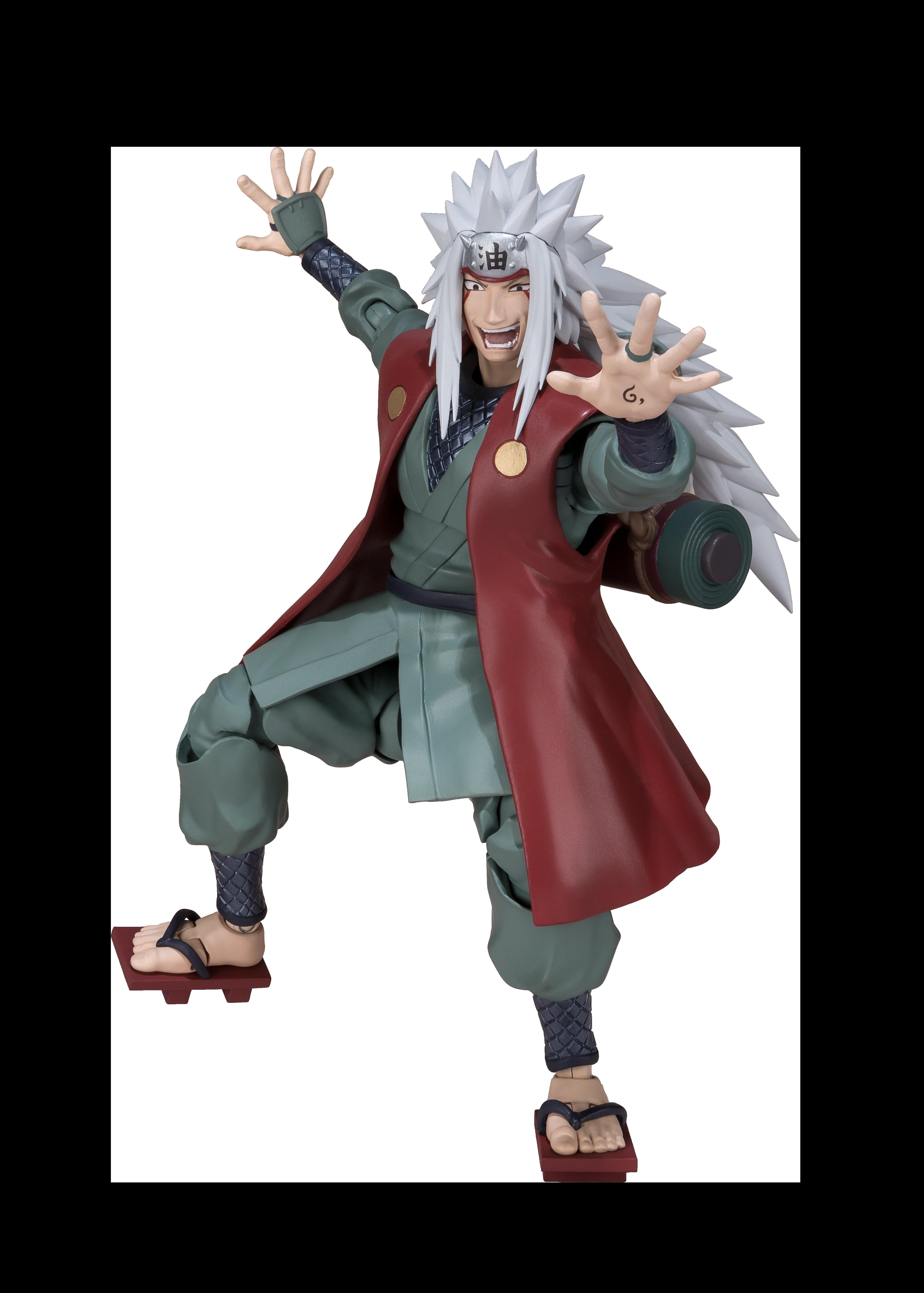 Naruto Shippuden Jiraiya S H Figuarts Action Figure Gamestop