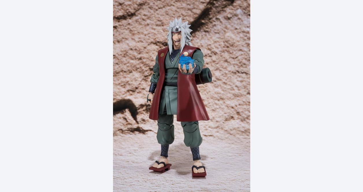 Naruto Shippuden Jiraiya S.H. Figuarts Action Figure