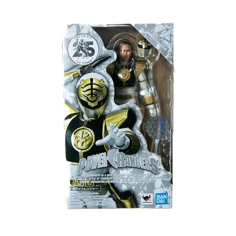 Mighty Morphin Power Rangers White Ranger Action Figure