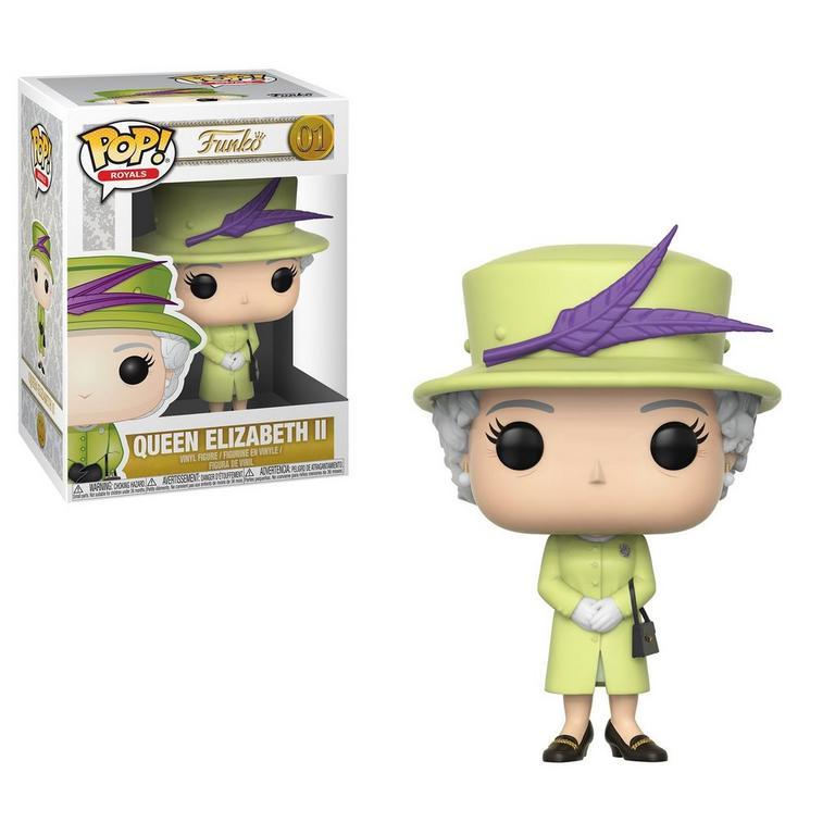 POP! Royals: Queen Elizabeth II (Green)