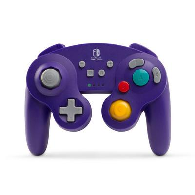 Wireless Controller for Nintendo Switch - GameCube Style Purple