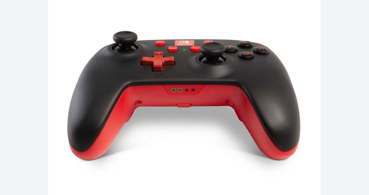 White/Red Enhanced Wireless Controller for Nintendo Switch