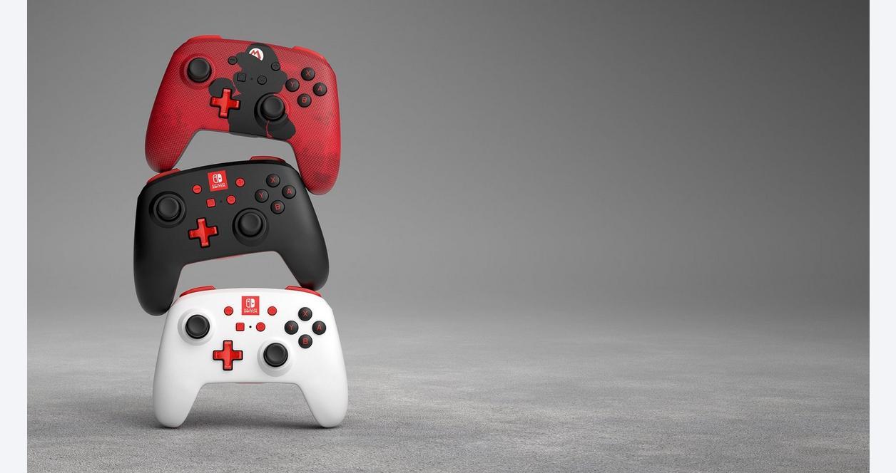Nintendo Switch White Enhanced Wireless Controller