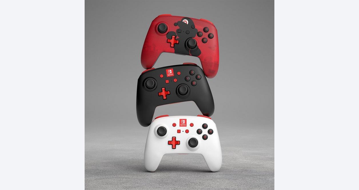 Nintendo Switch Mario Silhouette Enhanced Wireless Controller